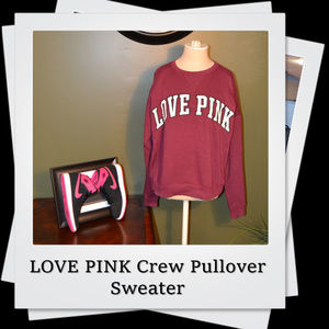 EUC | Victoria's Secret Applique Crewneck Pullover